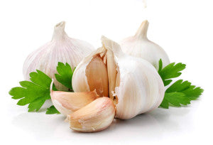 Using garlic for cooking