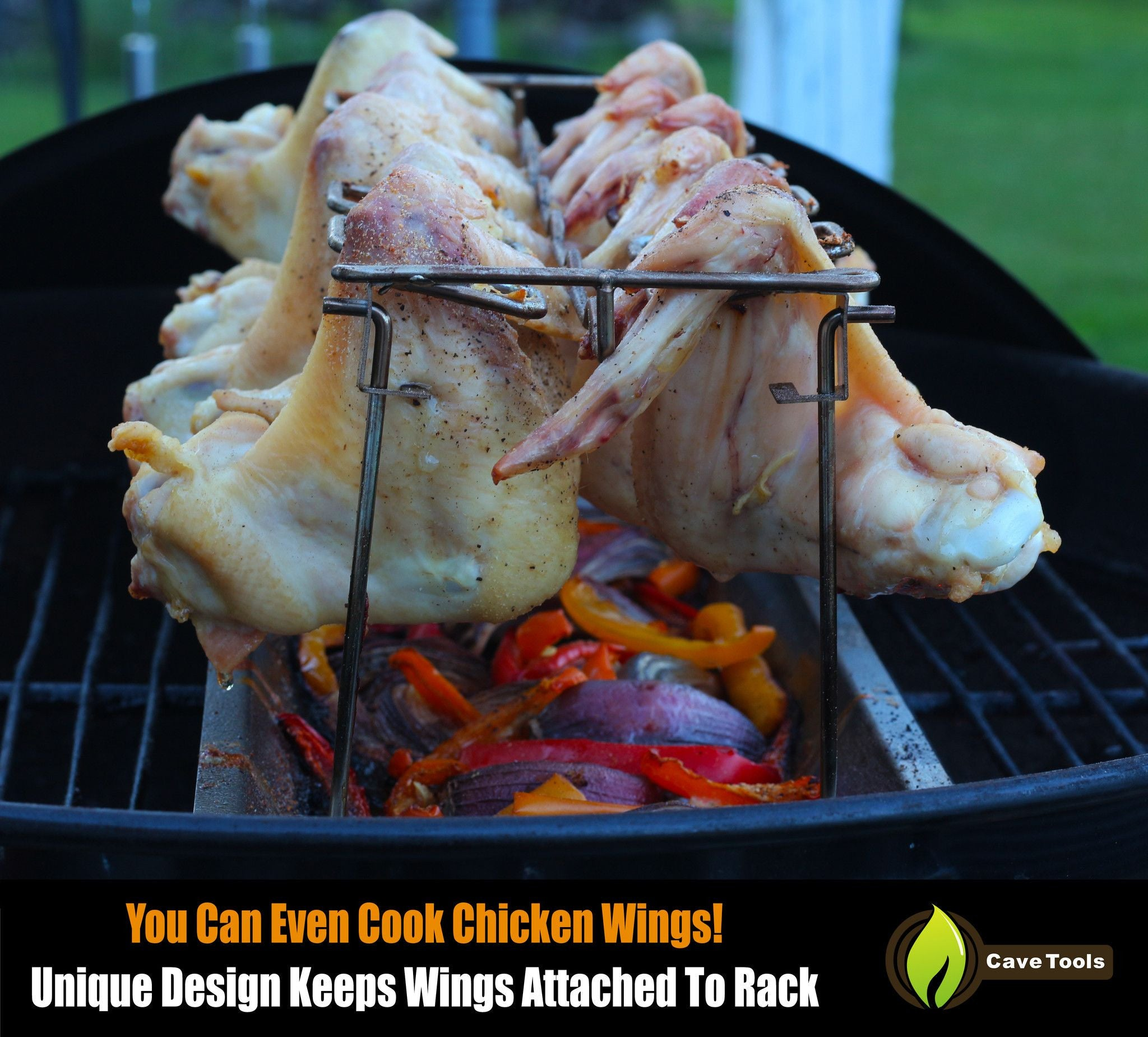 Chicken Wing Leg Rack Cave Tools Diagram Detailed Grill Racks