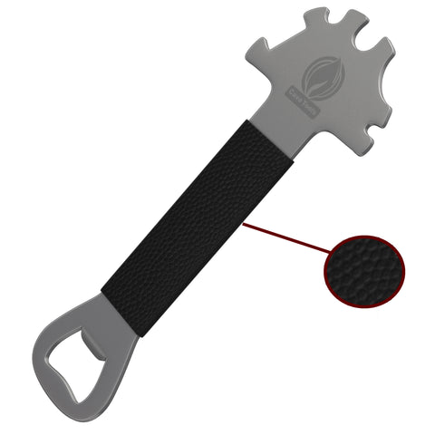 BBQ Scraper Tool Essential with Extended Handle and Bottle Opener