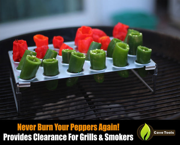 Jalapeno Grill Rack Amp Pepper Corer Tool Cave Tools