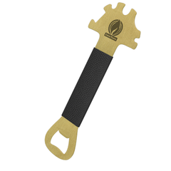 BBQ Brass Scraper Tool Essential with Extended Handle and Bottle Opener