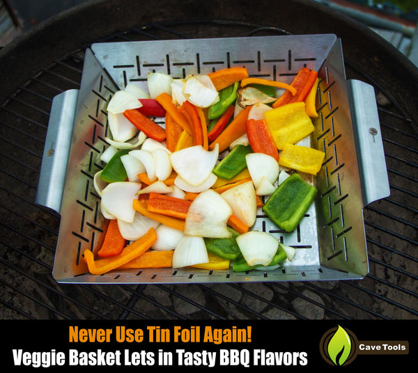 Vegetable Grill Basket Cave Tools