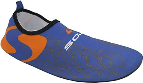 aqua_sock_blue_orange_fine_saratoga