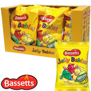 Bumper Offer - Bassetts Mini Jelly Babies - 17 packets FREE P&P!