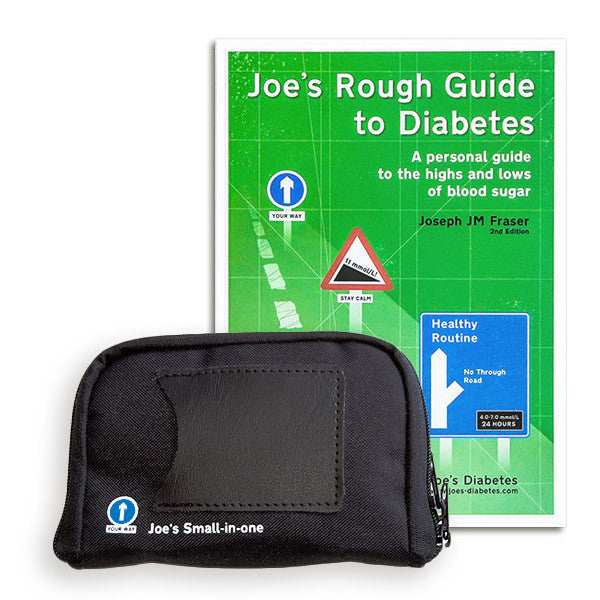 Combination package - Joe's Small-in-one (available multiple colours) Joe's Rough Guide to Diabetes 2nd Edn (Hard copy) OVER 15% OFF!
