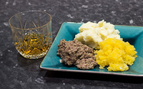 Haggis, neeps and tatties.