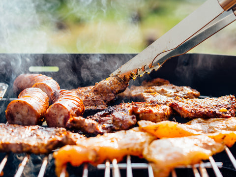 BBQ Box - Sausages, burgers, pork ribs and chicken breasts