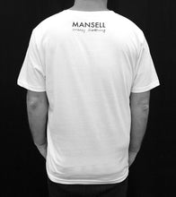 Load image into Gallery viewer, Mansell Testcard Tee – White