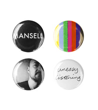 Load image into Gallery viewer, Mansell Pin Badge Pack