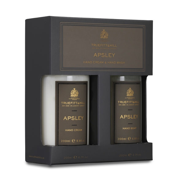 Apsley hand cream and hand soap