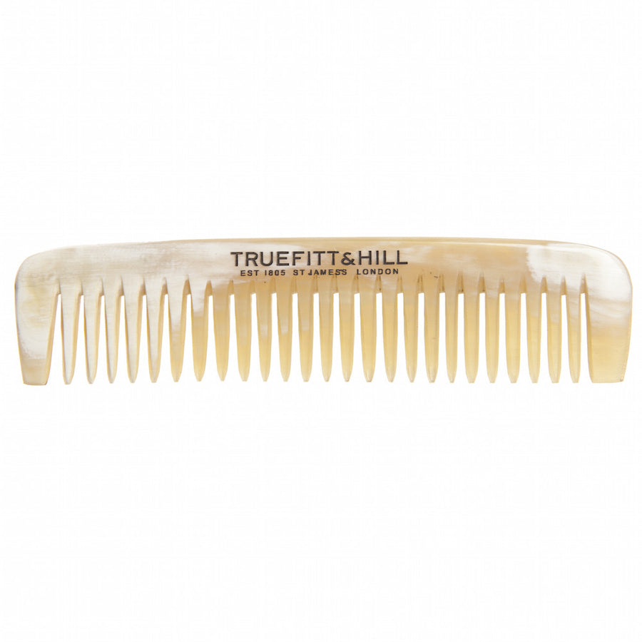 "Truefitt & Hill Horn Pocket Comb - Small (3.5"") - Truefitt & Hill Canada"