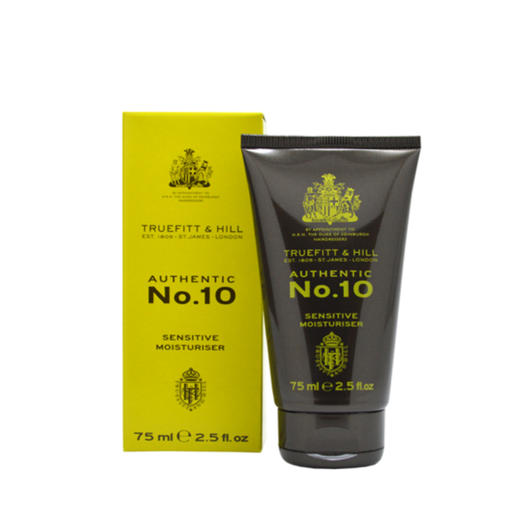 No. 10 Sensitive Moisturiser (new size from 50ml to 75ml) - Truefitt & Hill Canada