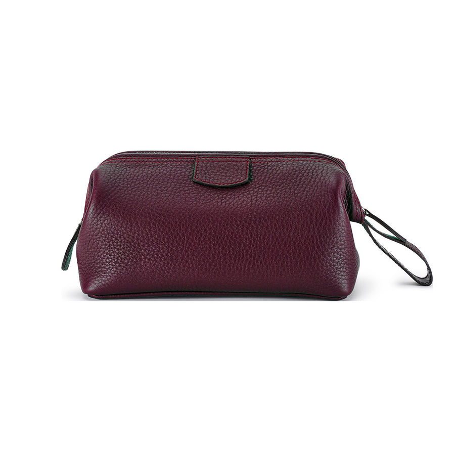 T&H Havana Nappa Wash Bag