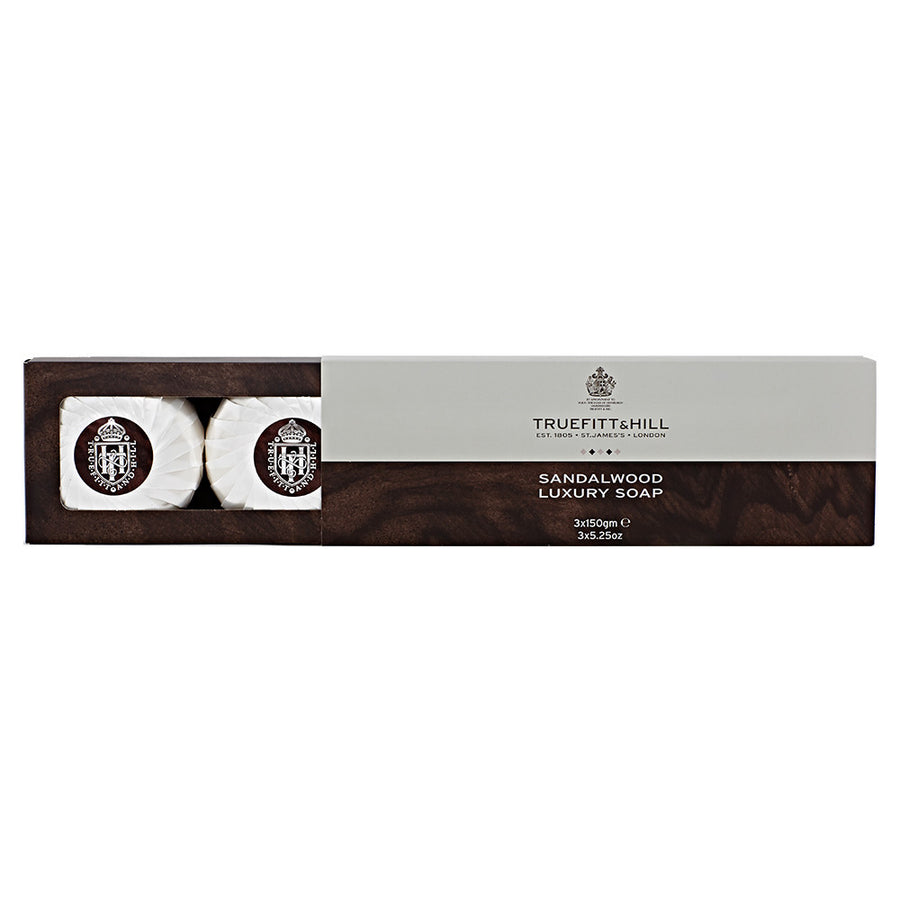 Sandalwood Luxury Triple Soap - Truefitt & Hill Canada