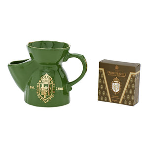 Green Shaving Mug (with complimentary refill) - Truefitt & Hill Canada