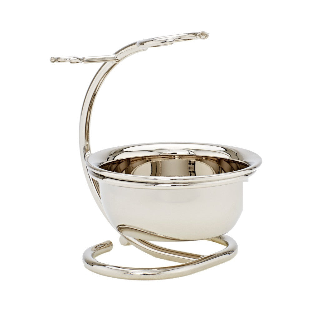 Chrome Shaving Stand with Bowl - Truefitt & Hill Canada