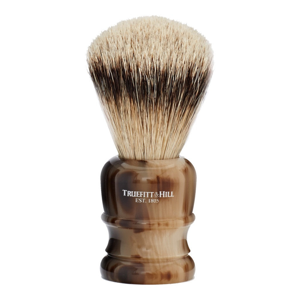 Silver Tip Wellington Shaving Brush with a Fan Knot