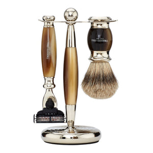 Edwardian Collection - Shaving Brush & Razor Set - Truefitt & Hill Canada