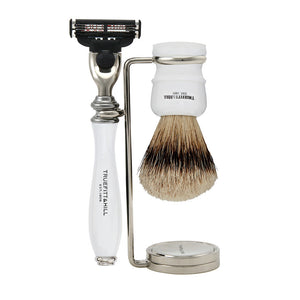 Wellington Collection - Shaving Brush & Razor Set - Truefitt & Hill Canada