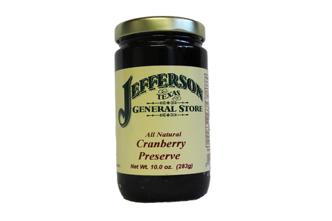 All Natural Cranberry Preserve