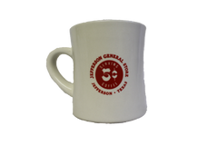 Jefferson General Store 5 Cent Coffee Mug