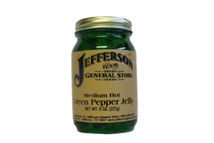 Green Pepper Jelly (Medium Hot)