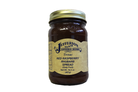 Red Raspberry Rhubarb Spread (Fruit Only)