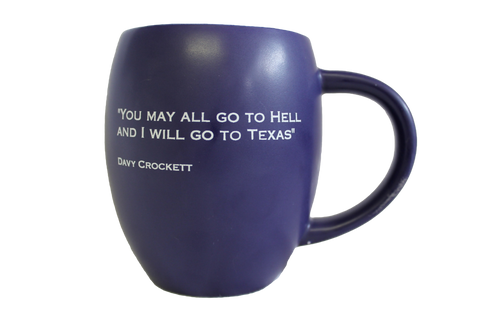 Davy Crocket  Lone Star Mug