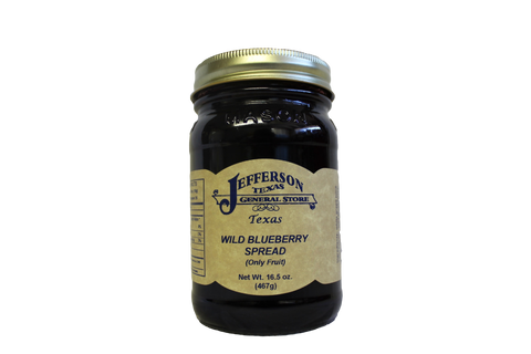 Wild Blueberry Spread (Fruit Only)