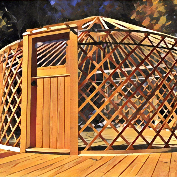 A New Tradition in Yurt Craft