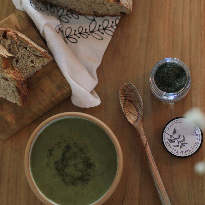 Double Wild Nettle Sea Salt & Celery Soup