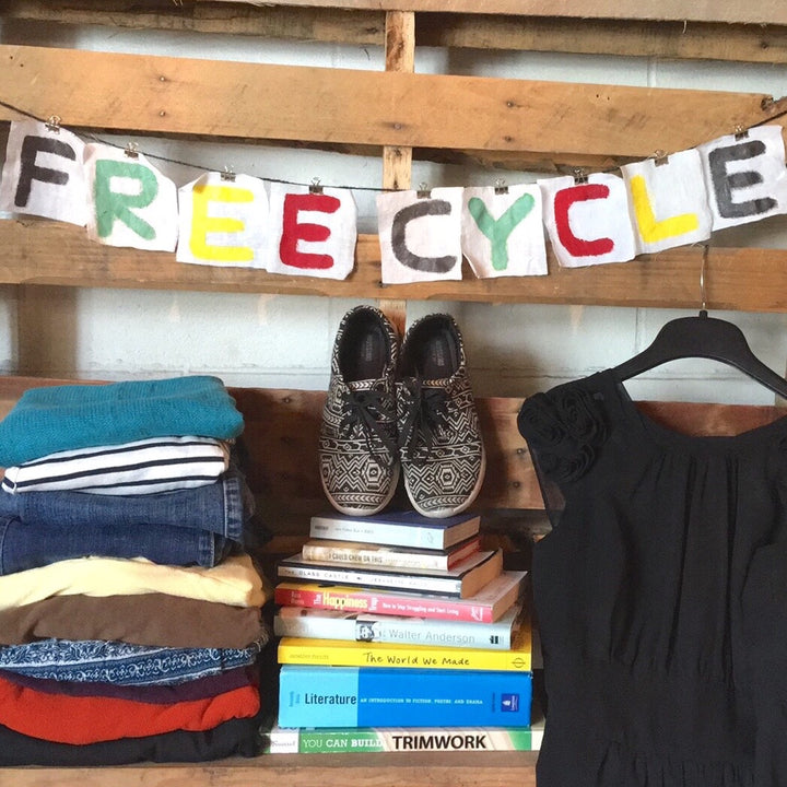 Free-Cycle at Villagers:  Offer what you can, Receive what you need!