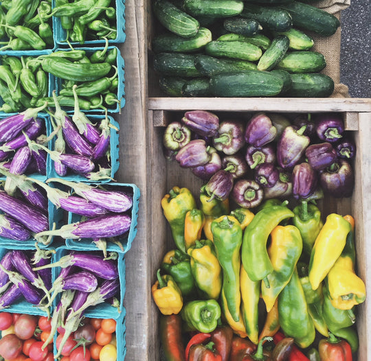 best vegetables at the local farmers market