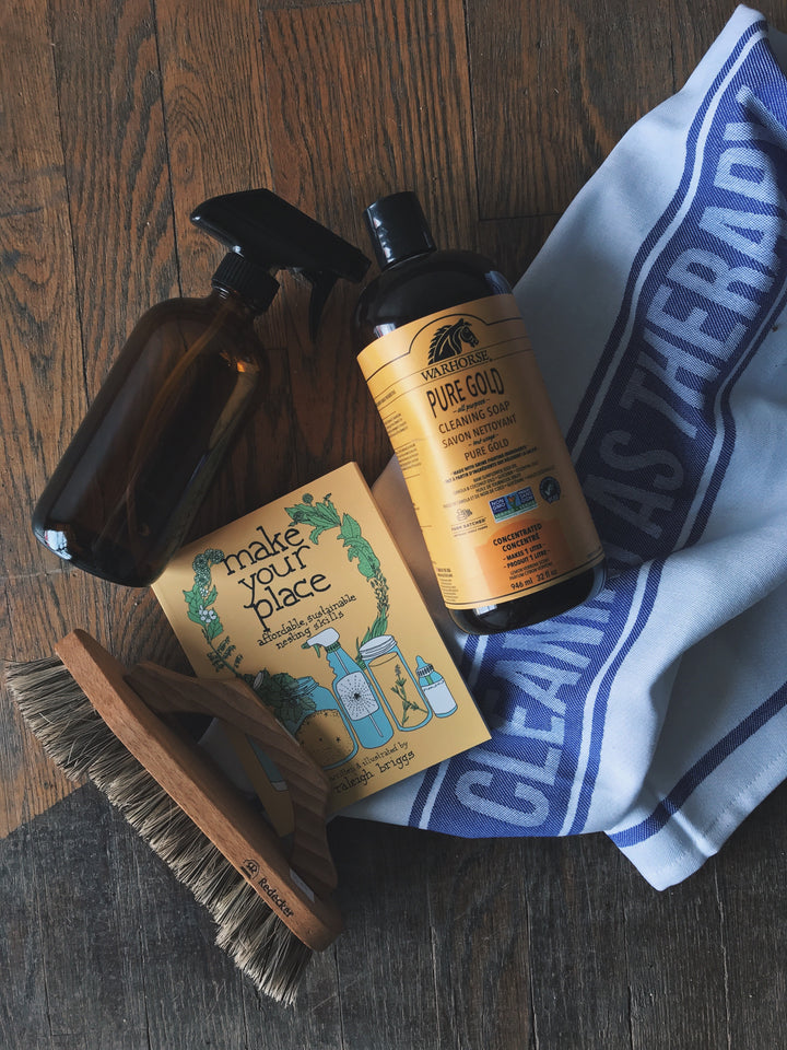 natural non-toxic home cleaning supplies