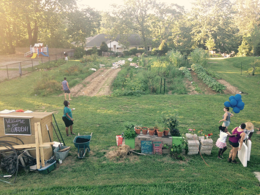 Volunteer at a Community Garden - VILLAGERS