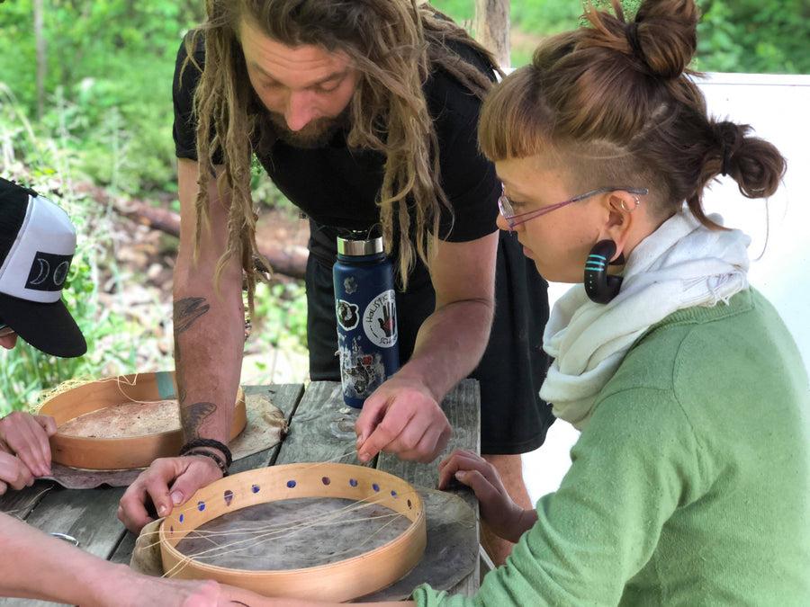 12.08.19 // Intensive:  Making the Sacred Drum with Luke McLaughlin // 4:30-8p