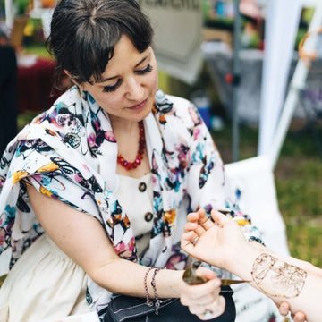 10.16.19 // CLASS CANCELLED: Henna Tattoos for Beginners with Sarah Jordan // 6:30-8p