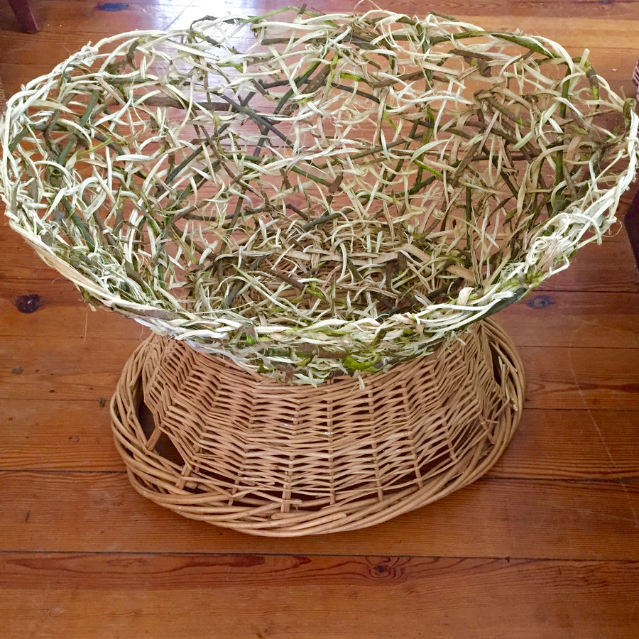 08.24.19 // Basket Making Intensive:  Freeform Kudzu Vine Laundry Basket