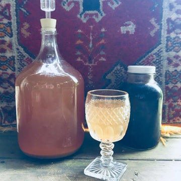 04.24.19 //  Mead Making: Fruit and Herbal Wines from Honey with Kaleb Wallace // 6:30-8:30p