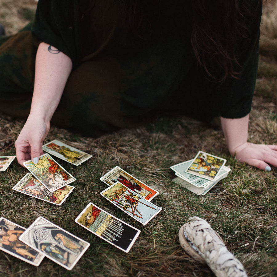 3.8.18-3.29.18 // Tarot for Self Care Immersion with Sarah Chappell // 6:30-8:30pm