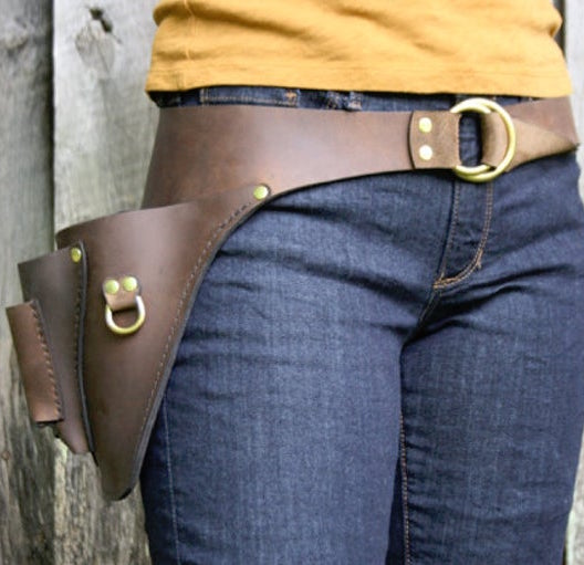 Handmade Leather Garden Belt