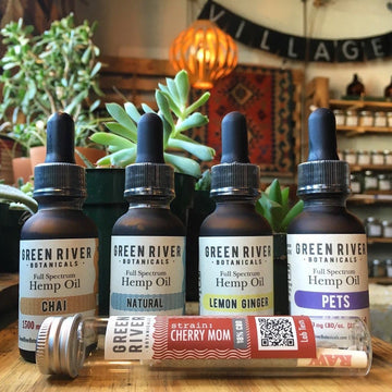 Green River Botanicals Full Spectrum Hemp Oil