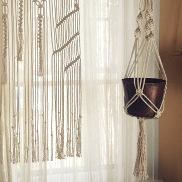 04.05.16 // Macrame Hanging Planters with Amelia Pate //  6:30 - 8:30