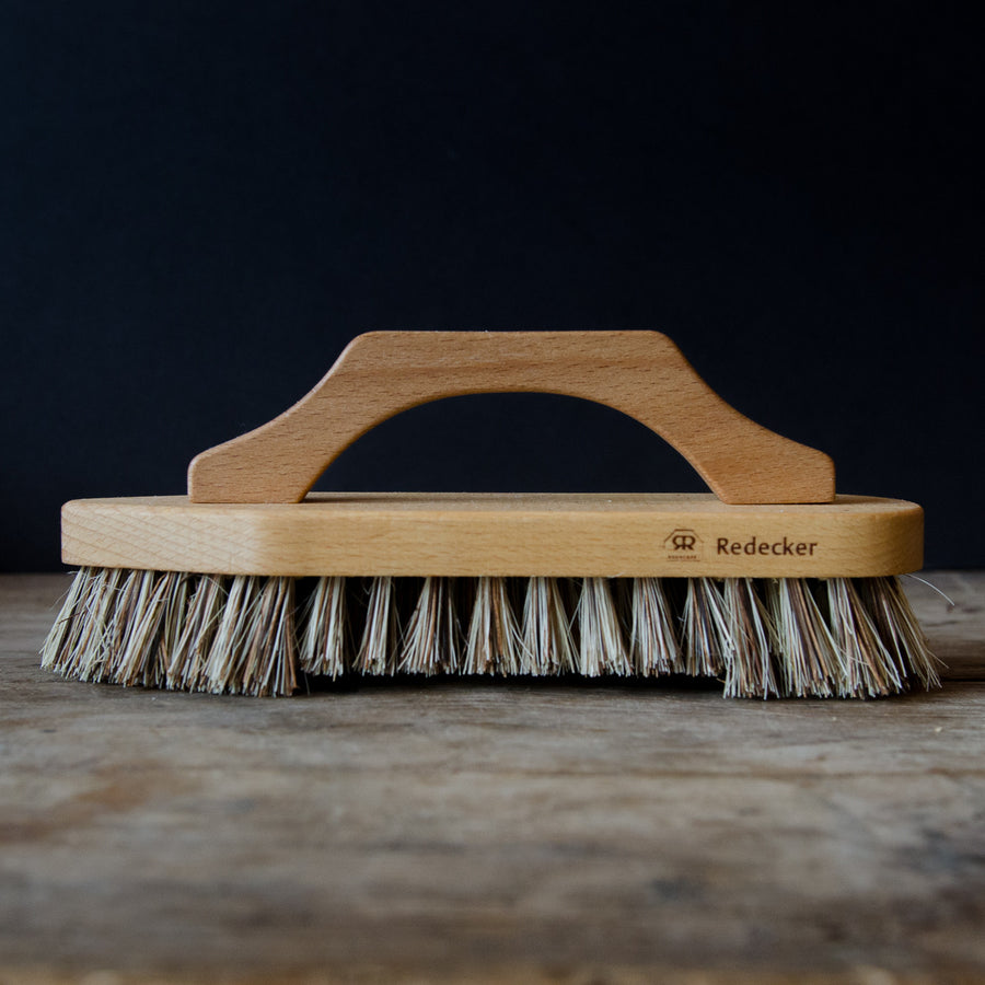 Scrub Brush w/ Bow-shaped handle
