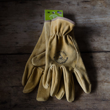 Womanswork Leather Work Glove, Original