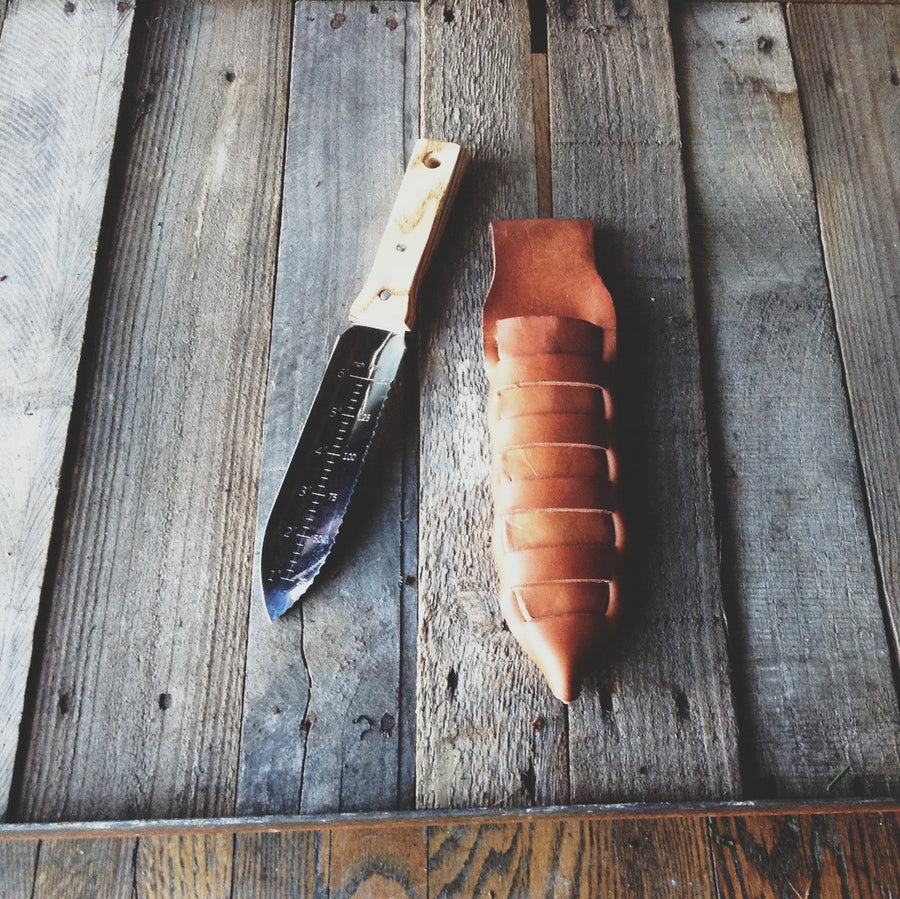 02.28.16 // Knife Sheath Making with Rachel Shopper // 5-9pm