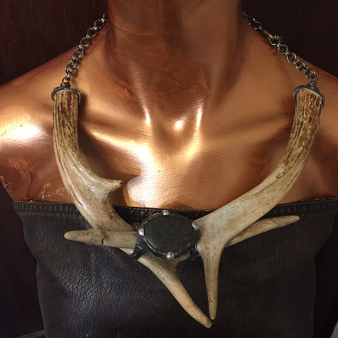 Antler Power Necklace ~ Acadia Warrior