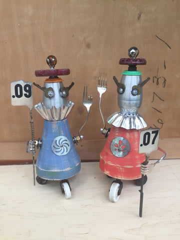 Circus Roller Bot Sisters (your Choice)