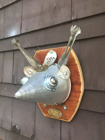 "BotMount ~ ""5 5/8"" DeerBot Mount Taxidermy"