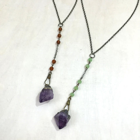 Emily Necklace, Amethyst